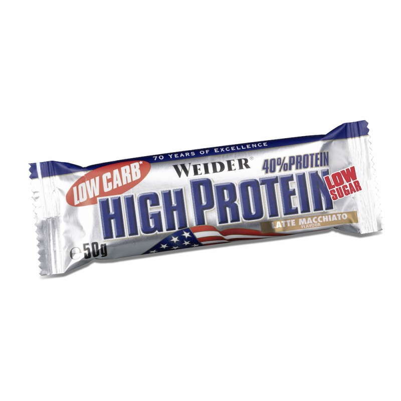 40% PROTEIN BAR (latte macc) 50g