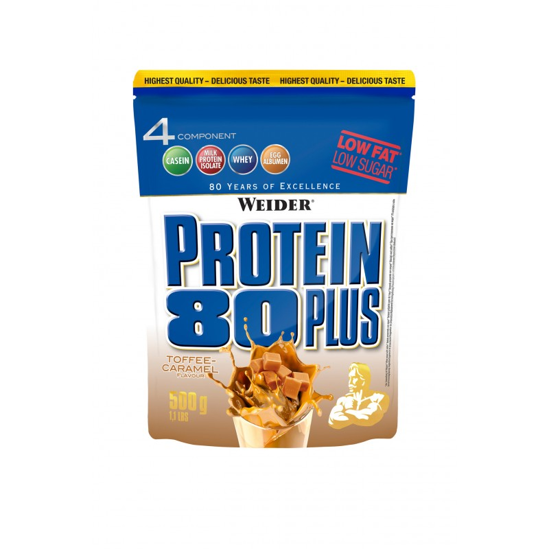 PROTEIN 80+ (tofee) 500g