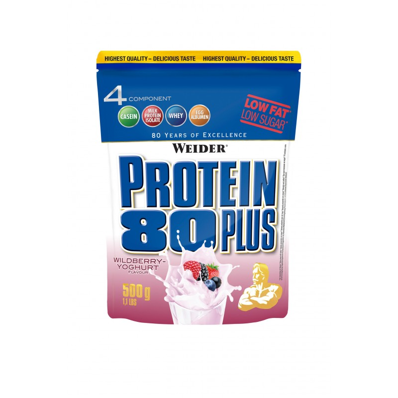 PROTEIN 80+ (wildberry) 500g