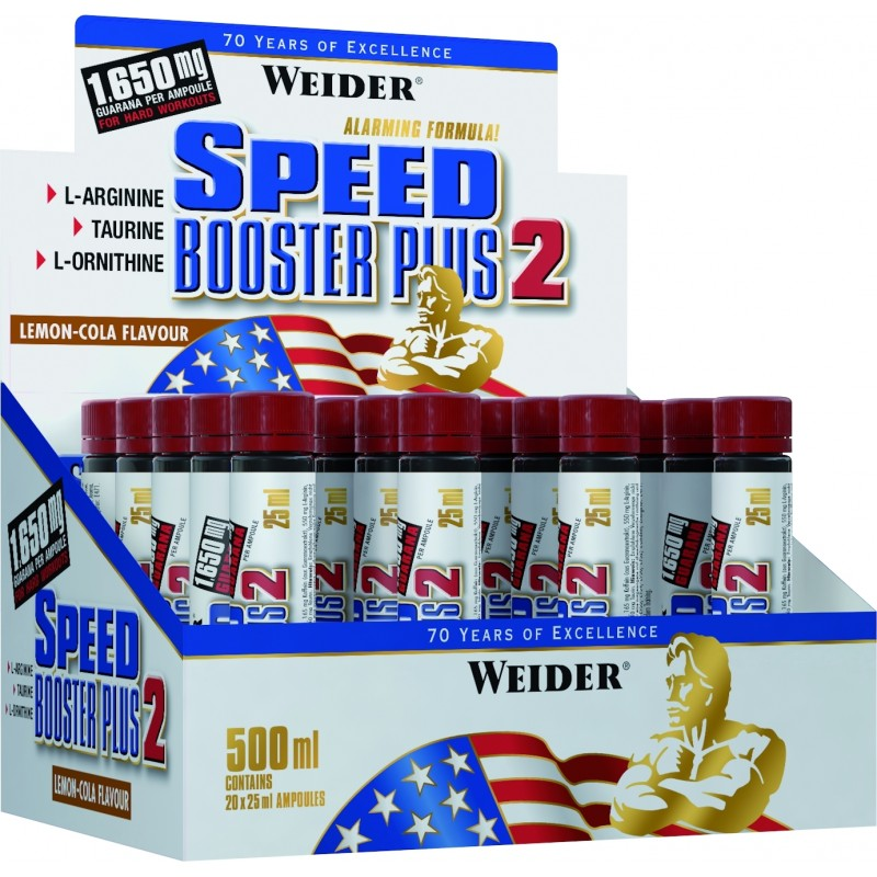 SPEED BOOSTER PLUS II, 20 ampul