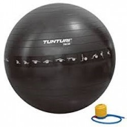 Ball, GYMBALL ANTI BURST 65cm - Black